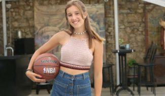 Rumbo a Cleveland: Clara Gutierréz, infantil del Avilés, jugará en el Andrews Osborne Academy