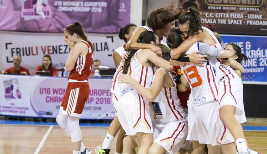A por otra medalla: España se juega entrar en semis del Europeo Sub-16 ante República Checa (Streaming)