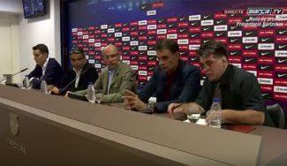 """De la Fuente y Bartzokas repasan la plantilla y el mercado del Barça: """"Vives nos interesa"""""""