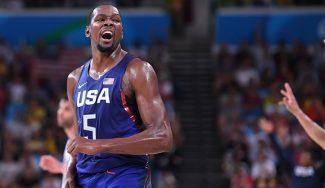 El USA Team se cuelga el oro aplastando a Serbia. Durant se exhibe y Nedovic maquilla
