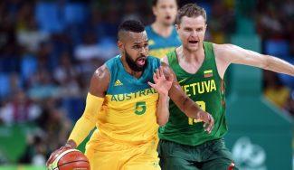 Australia barre a Lituania y se mete en semis: Mills y Dellavedova la lían desde el triple