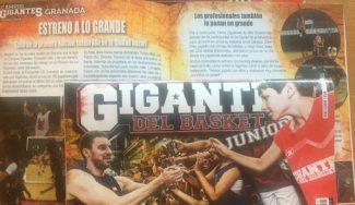 Increíble: la primera edición del Campus Gigantes en Granada, en nuestra revista