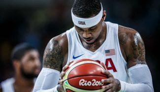 """Carmelo, impresionado por el partido de Serbia: """"Hay que quitarse el sombrero ante ellos"""""""