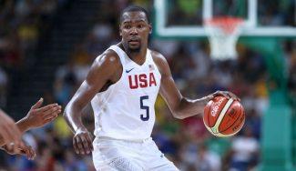 """Kevin Durant compara el basket FIBA y la NBA: """"Aquí se intenta ralentizar más el juego"""""""