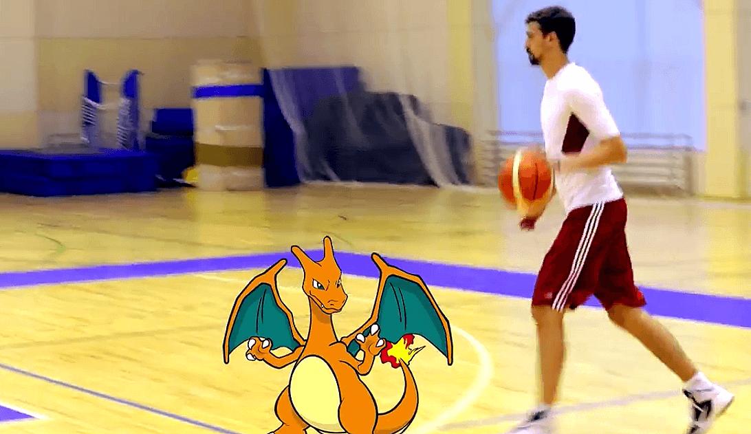 Otra manera de cazar Pokémons: Shved lo utiliza como una rutina de entreno (Vídeo)