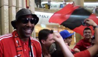 Locura por Amare: fans del Hapoel invaden el aeropuerto para darle la bienvenida (Vídeos)