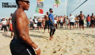 Cambian el parqué por la arena: el USA Team se divierte… ¡jugando al voley playa! (Vídeo)