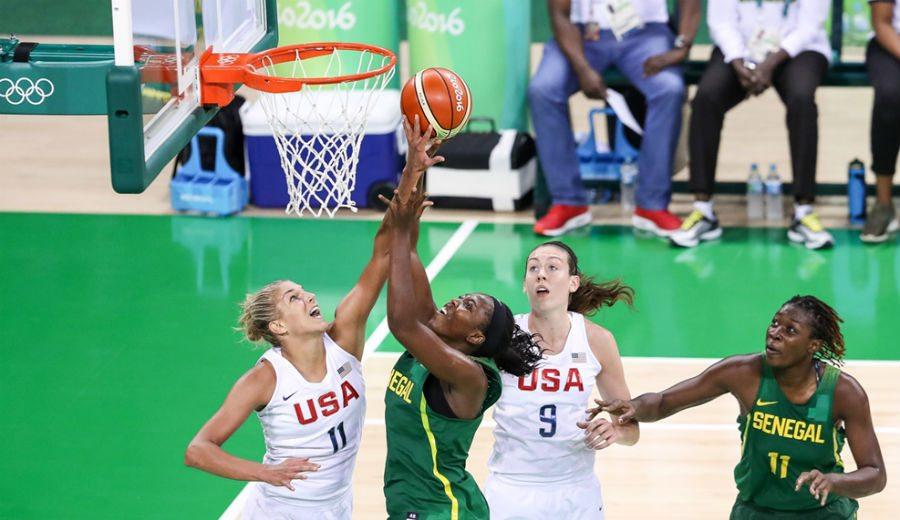 Las chicas de USA baten su récord de puntos en su mayor paliza en unos Juegos