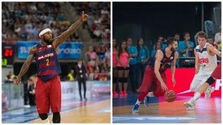 El Barça, sin bases: Rice y Ribas, duda para los próximos partidos por problemas físicos