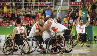 Inédito: la celebración de España BSR tras meterse en la final de los Paralímpicos (Vídeo)