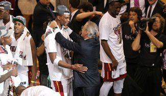 """Pat Riley da por acabada la carrera de Bosh con los Heat: """"No trabajamos en su regreso"""""""