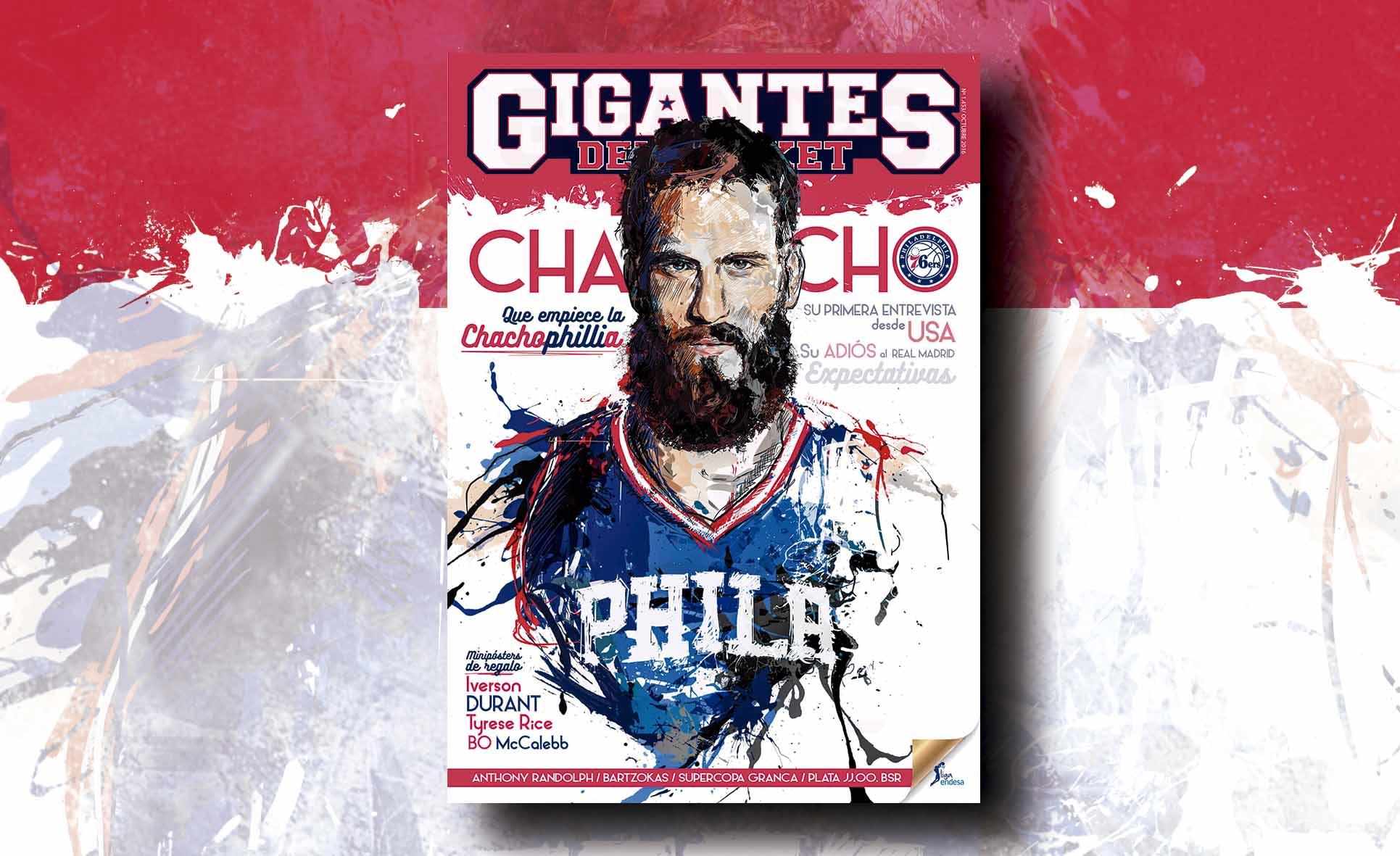 La nueva Gigantes de octubre: El Chacho vuelve a la NBA. Entrevista y análisis