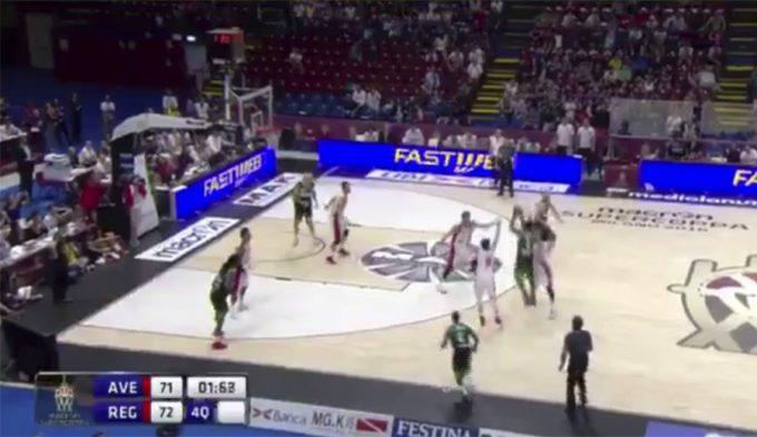 Triplazo ganador sobre la bocina: del ex ACB Joe Ragland en semis de Supercoppa (Vídeo)
