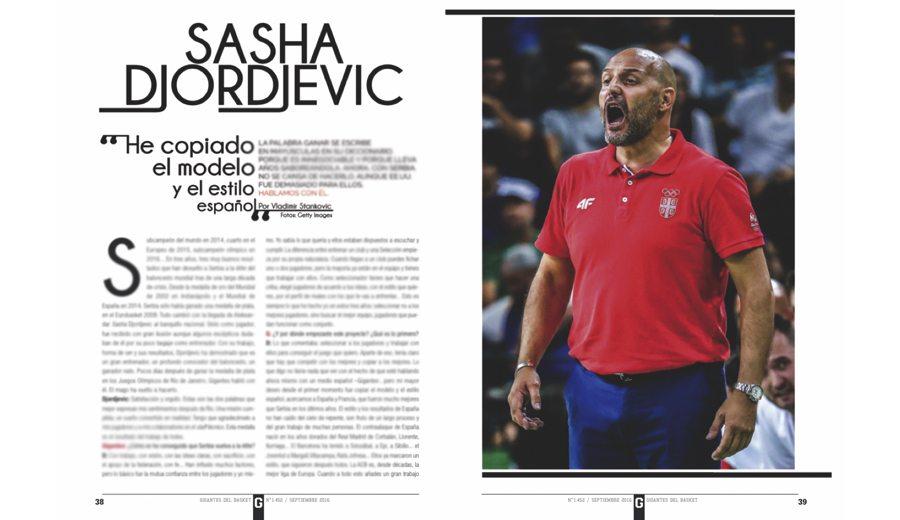 """Djordjevic, en la Gigantes de septiembre: """"El Barça me llamó este verano, pero finalmente eligieron a otro"""""""