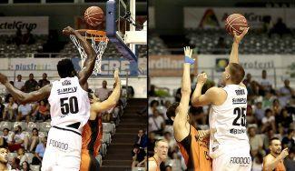 Eric y Buva, imparable dúo interior del Bilbao: 35 puntos y 24 rebotes ante el Fuenla (Vídeo)