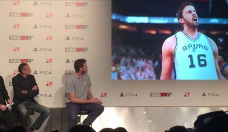 """Pau presenta el 2K17: """"84 es una media alta, pero Marc tiene 86, me toca la moral"""" (Vídeo)"""