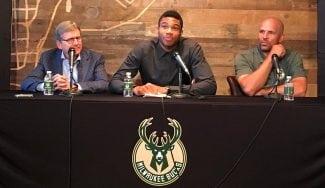 Antetokounmpo firma un contratazo histórico para un europeo NBA y pide… ¡un batido!