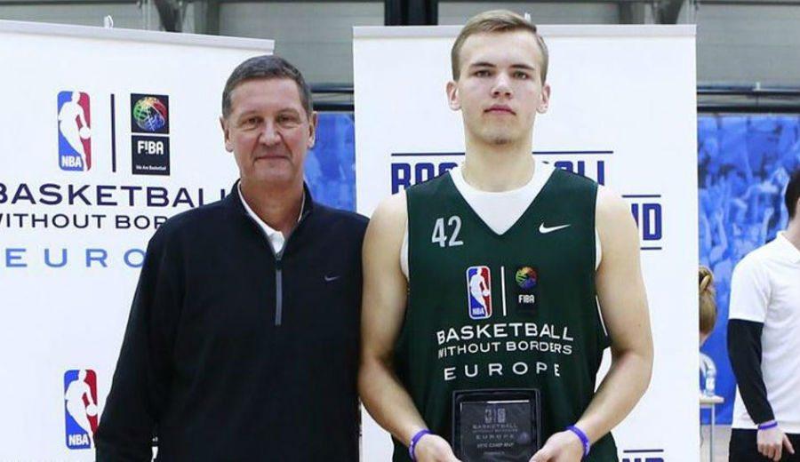MVP de futuro: el lituano Arnas Velicka, nombrado mejor jugador del Basketball without Borders