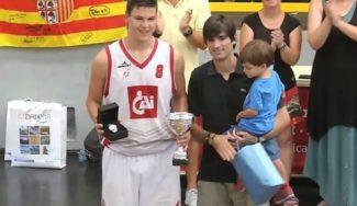 Conoce futuras estrellas: Jaime Pradilla, una fuerza interior bajo los aros en Zaragoza (Vídeo)
