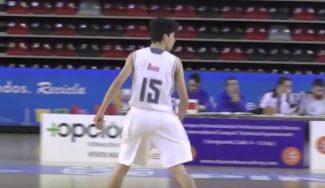 Conoce futuras estrellas: Jorge Mejías, base de la cantera del Real Madrid (Vídeo)