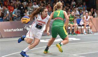 No pudo ser: La Selección Femenina Sub-18 cae en cuartos de final del Europeo 3×3