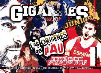 Ya disponible nuestra Gigantes Junior: conoce todos los orígenes de Pau Gasol…y mucho más