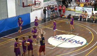 ¡Cómo enchufan! Disfruta viendo a los Sub-16 del Torneo de Sant Josep en el concurso de triples (Vídeo)