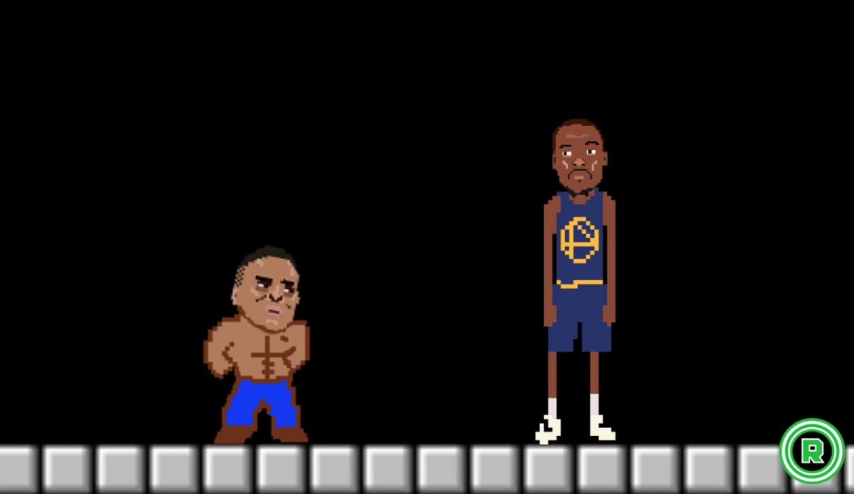 ¿Durant secuestrado? Flipa con Westbrook, KD y Curry en versión Super Mario (Vídeo)