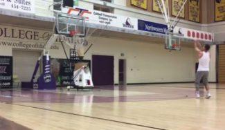 ¡Cómo enchufa! Aitor Zubizarreta entrena de esta forma para la nueva temporada en USA (Vídeo)