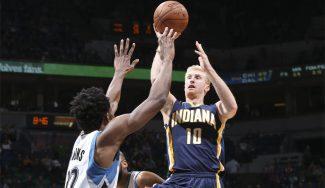 El Baskonia refuerza el perímetro con el NBA Chase Budinger: así jugó en Indiana (Vídeo)