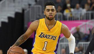D'Angelo Russell podría regresar a los Lakers a jugar con LeBron