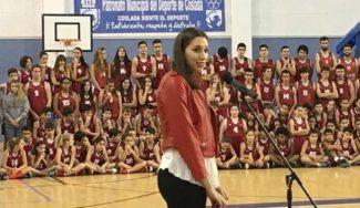 ¡Detallazo! Presentación del C.B. Coslada y homenaje a Laura Quevedo, formada en este club