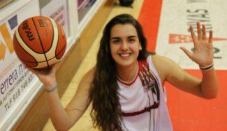 Uno de los futuros nacionales. La joven Paula Ginzo, del LF2 de Rivas, en la Gigantes Junior de este mes