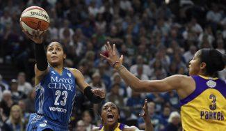 Finales WNBA: Las Lynx de Anna Cruz igualan con una exhibición de Maya Moore (Vídeo)