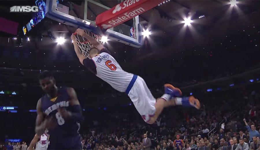Marc brilla en el Madison pero Porzingis vuela y lleva a los Knicks al triunfo (Vídeo)