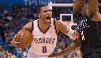 Westbrook, de otro planeta: triple-doble con 51 puntos y decisivo ante los Suns (Vídeos)
