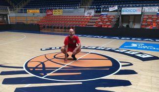 Xavi Rey sustituye al lesionado Sekulic en el Fuenla: «Las sensaciones son muy buenas»