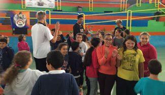 Vuelta a los orígenes: la CBA visita el colegio San Rafael de Canarias. ¡Inolvidable!