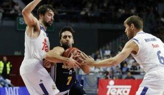 El Madrid sufre ante el recital de Campazzo: destellos del Facu y de Luka Doncic (Vídeos)