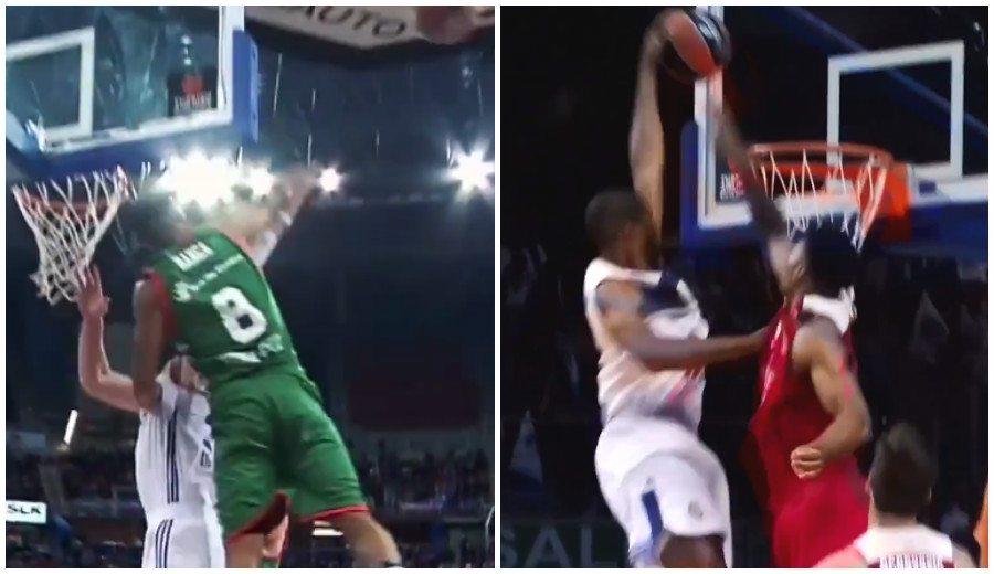 Top 10 Euroliga: Hanga sobresale taponando y Randolph se impone con su póster (Vídeo)