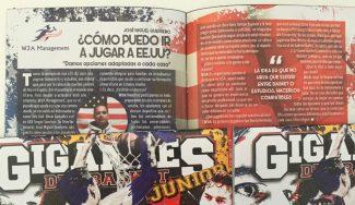 ¿Cómo jugar en Estados Unidos? Descúbrelo en Gigantes Junior gracias a W2A Management