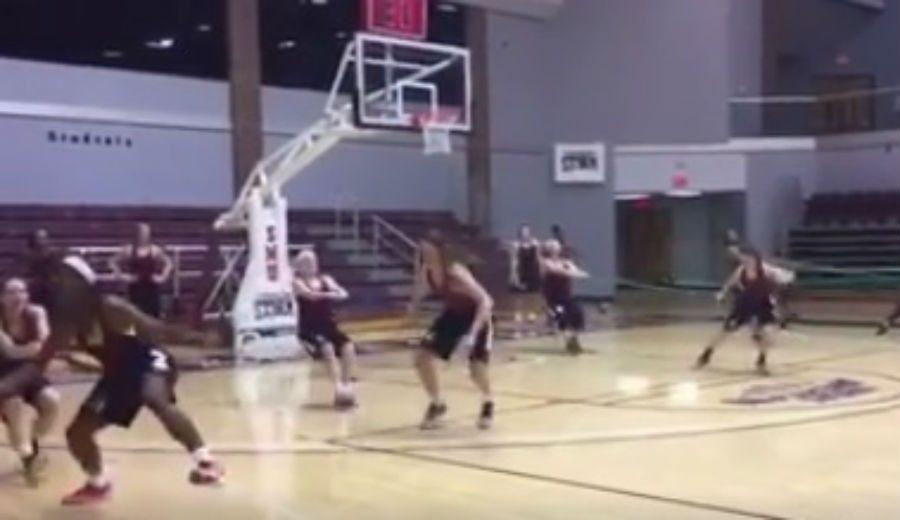 ¡Vaya preparación! la española Irene Pérez entrena así para la temporada NCAA (Vídeo)