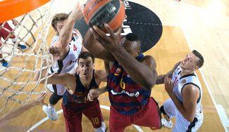 El Barça sufre para ganar al Brose: Koponen reaparece y Dorsey destroza aros (Vídeos)