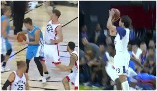 Juancho y Sergio Llull se ganan un sitio entre lo mejor de la pretemporada NBA (Vídeo)