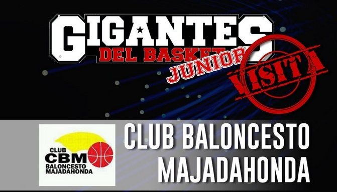 Pasión por el basket para empezar: Gigantes Junior hace su primera visita al C.B. Majadahonda
