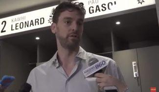 Pau debuta con los Spurs y no piensa en descansar: «Quiero seguir jugando minutos»