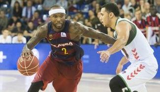 El Barça gana al Baskonia: Rice se estrena como mago ante un Larkin volador (Vídeos)