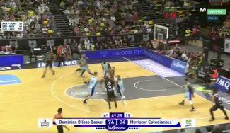 Tabu, decisivo en Bilbao: triple clave para la victoria ante el 'triplista' Estudiantes (Vídeo)
