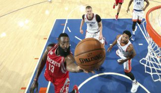 El base James Harden, a la altura de Magic: repite numerazos y toma el Madison (Vídeo)