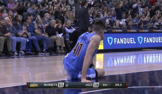 Juancho estrena titularidad perdiendo ante los Jazz y acaba lesionado del tobillo (Vídeo)